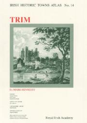 Cover of: Irish Historic Towns Atlas No 14
