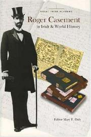 Cover of: Roger Casement in Irish And World History