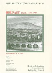 Cover of: Irish Historic Towns Atlas No. 17