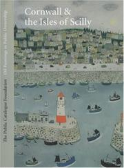 Cover of: Oil Paintings in Public Ownership in Cornwall | Sonia Roe