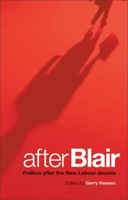 Cover of: After Blair | Gerry Hassan
