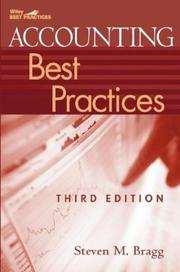 Cover of: Accounting Best Practices (Wiley Best Practices) | Steven M. Bragg
