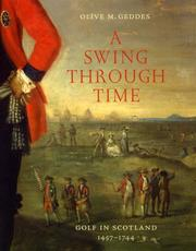 Cover of: A Swing Through Time by Olive M. Geddes