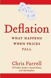 Cover of: Deflation | Chris Farrell