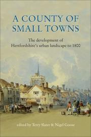 A County of Small Towns by