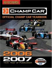 Cover of: Champ Car 2006-2007 | Jeremy Shaw