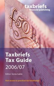 Cover of: Taxbriefs Tax Guide