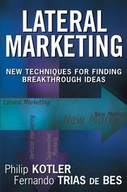 Cover of: Lateral marketing
