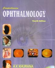 Cover of: Comprehensive Ophthalmology (Step By Step) | A. K. Khurana