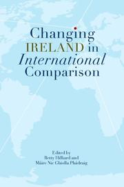 Cover of: Changing Ireland in International Comparison |