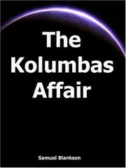 Cover of: The Kolumbas Affair | Samuel Blankson