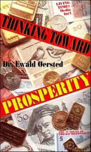 Cover of: Thinking Toward Prosperity (Academy of the 3rd Millennium)
