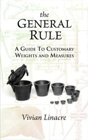 Cover of: The General Rule