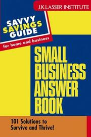 Cover of: Small Business Answer Book | Courtney Price