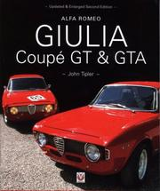 Cover of: Alfa Romeo Giulia Coupe GT & GTA