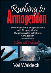 Cover of: Rushing to Armageddon | Val Waldeck