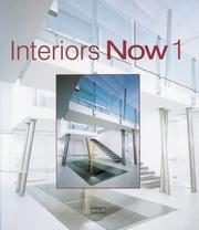 Cover of: Interiors Now 01 (Interiors Now) |