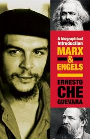 Cover of: Marx & Engels
