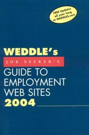 Cover of: Weddle