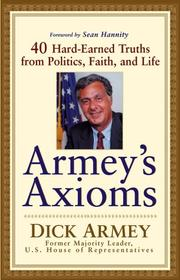 Cover of: Armey's Axioms