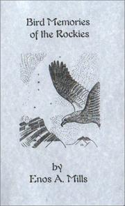 Cover of: Bird Memories of the Rockies
