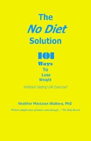 Cover of: The No Diet Solution