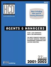 Cover of: Agents & Managers |