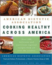 Cover of: American Dietetic Association Cooking Healthy Across America