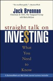 Cover of: Straight Talk on Investing | Jack Brennan