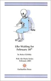 Cover of: Like Waiting for February 30th (Pale Ale Poets)