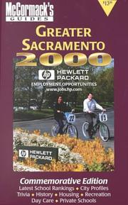Cover of: McCormack's Guide Greater Sacramento 2000