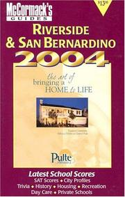 Cover of: Riverside/San Bernardino 2004 (Mcmormack