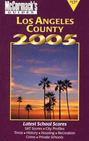 Cover of: Los Angeles County 2005 (McCormack's Guides) (Mccormack's Guides. Los Angeles County)