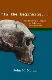Cover of: In the Beginning | John H. Morgan