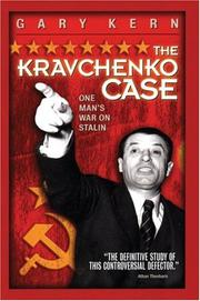 Cover of: The Kravchenko Case