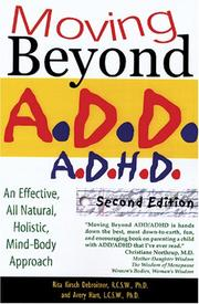 Cover of: Moving Beyond ADD/ADHD