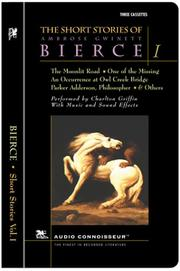 Cover of: The Short Stories of Ambrose Gwinett Bierce, Volume I