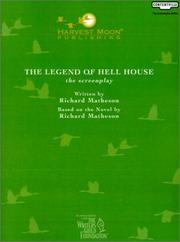 Cover of: The Legend of Hell House: The Screenplay