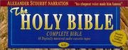 Cover of: King James Complete Bible on Audio Tape | Alexander Scourby