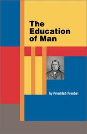 Cover of: The education of man