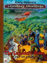 Cover of: The Lejendary Rules for All Players