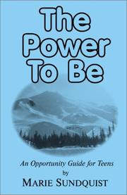 Cover of: The Power to Be | Marie Sundquist