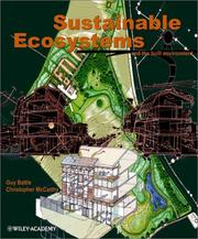 Cover of: Sustainable ecosystems