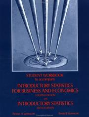 Cover of: Introductory statistics for business and economics, Fourth edition and Introductory statistics