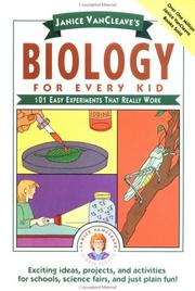 Cover of: Biology for every kid