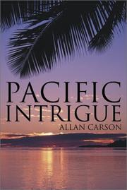 Cover of: Pacific Intrigue