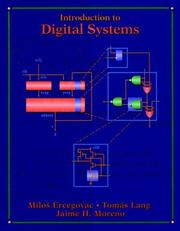 Cover of: Introduction to digital systems