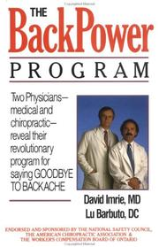 Cover of: The backpower program | David Imrie