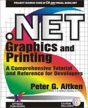 Cover of: .NET Graphics and Printing