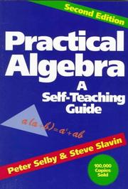 Cover of: Practical algebra by Peter H. Selby